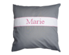 Coussin Gris-rose