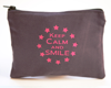 "Trousse ""Smile"" violette"