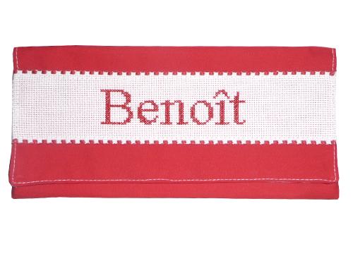 porte serviette de table rouge p 39 tits barons. Black Bedroom Furniture Sets. Home Design Ideas