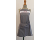 "Tablier de cuisine adulte ""Chef"" Gris-Rouge"