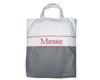 "Sac ""Messe"" Gris-Rouge"