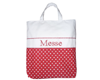 "Sac ""Messe"" Rouge pois Blanc"